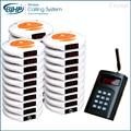 1 transmisor 30 buscapersonas 3 cargador de Mesa De Restaurante Sistema de Pedidos Wireless Timbre Electrónico