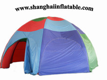 2016 good quality beautiful costomized advertising promotion inflatable tent inflatable event and exhibition tent camping tent