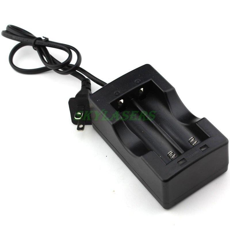 Высокое качество 2LED двойное зарядное устройство для литиевых литий-ионных аккумуляторов 18650 перезаряжаемая батарея ЕС или США для фонарика