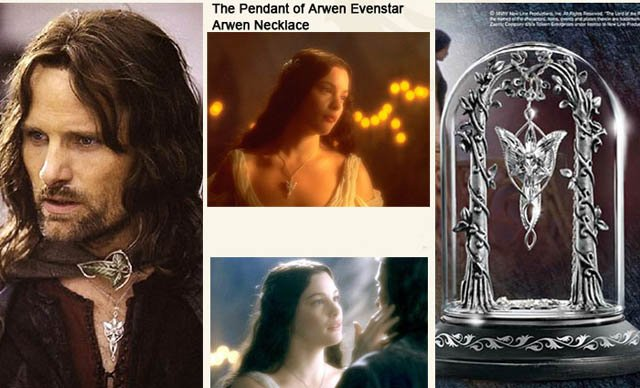 The arwen evenstar pendant necklace fashion movie jewelry promotion evenstar necklace bg aloadofball Choice Image
