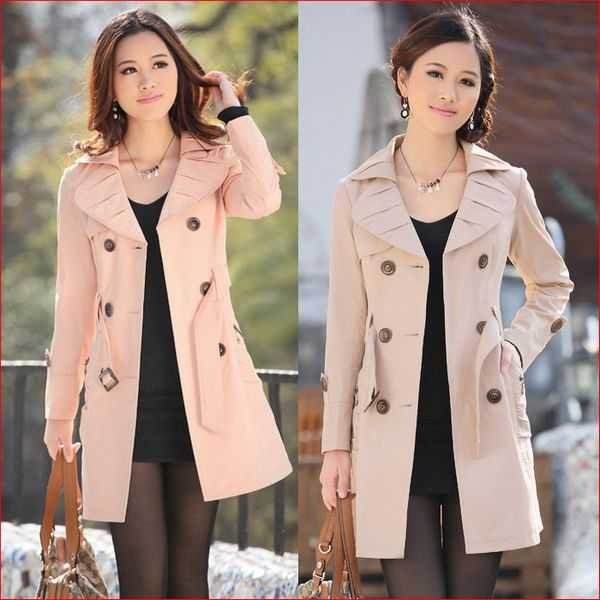 Aliexpress.com : Buy Trench coat Women girl Winter Cotton ...
