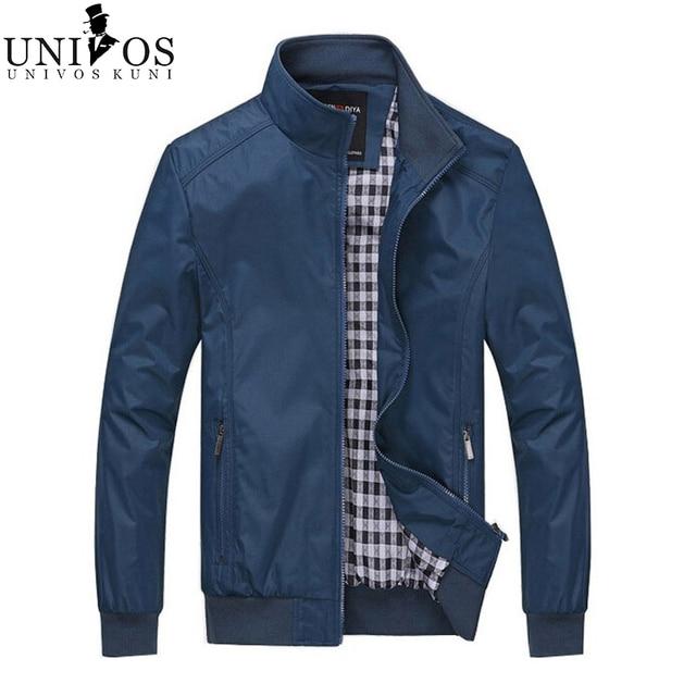 2016 весна твердые куртки мужские новое свободного покроя куртки мода пиджаки молния классический деловой ветровка Z2172