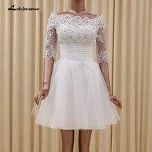 Perlen mit Appliques Kurze Cocktailkleider Mini A-linie Weiß Homecoming Kleid 2016 Sexy staffelung-kleid