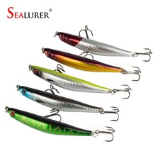 Sealurer 9cm/8.3g Fishing Tackle Hard Minnow Lure Imitate the dying fish Artificial Bait with 2 Fish Hook