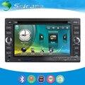 Seicane S041166Q DVD Player Do Carro Sistema de Navegação GPS Para Chery A3 A5 Com Rádio sintonizador de TV Tela Sensível Ao Toque de Controle Remoto Bluetooth