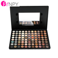 New Lady Natural 88 Color Face Makeup Concealer Palette Eyeshadow Palette Comestic Tool Bar With Mirror