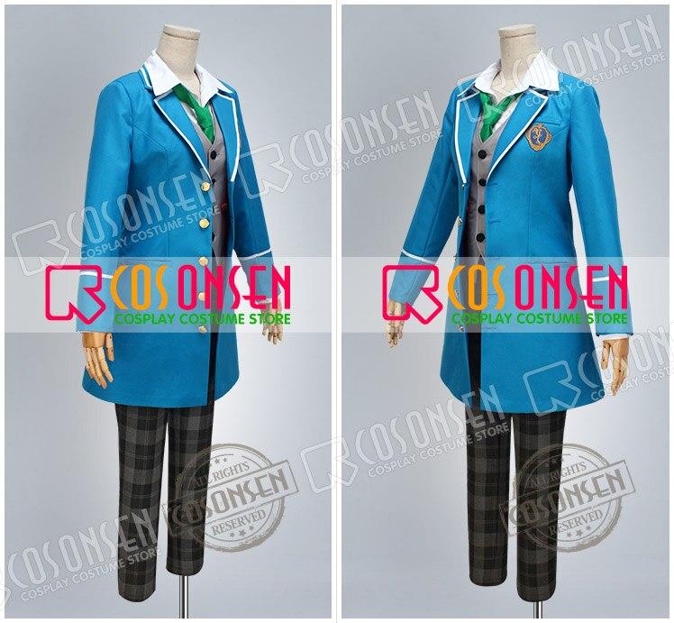 COSPLAYONSEN Ensemble Stars  Wataru Hibiki Cosplay Costume blue full set