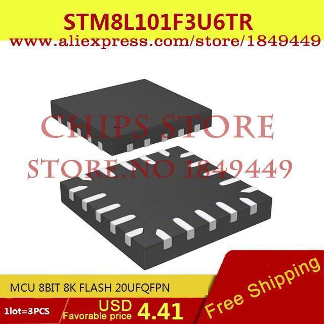 Цена STM8L101F3U6TR