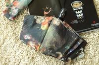 в любое время ] заказ - французский живописи тушью красочные большой большой автоматический зонт - бесплатная доставка