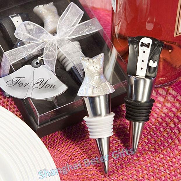 100pcs 50box 2pcs Box Bride And Groom Wine Tool Bachelor Party Ideas