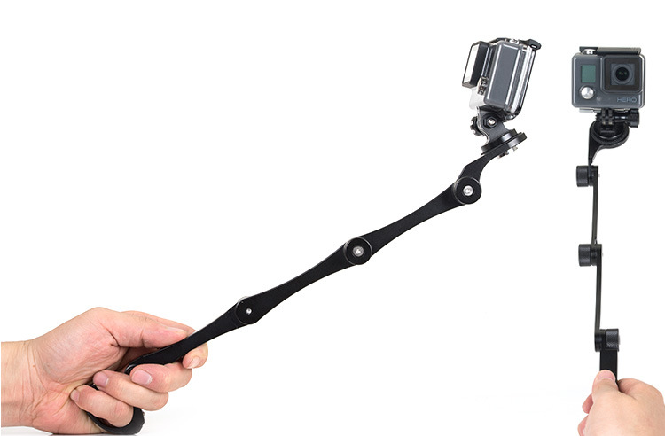 for GOPRO3  3 +  4 clip-on aluminum alloy rods Self