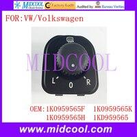 Nuevo interruptor de espejo trasero usar OE NO. 1K0959565F... 1K0959565K... 1K0959565H... 1KD959565 para Volkswagen VW