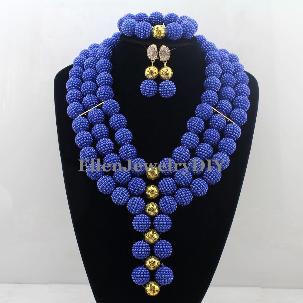 African Statement Necklace Jewelry Sets Nigerian Beads Wedding Jewelry Set Bridal Statement Jewelry Set Free Shipping W12730African Statement Necklace Jewelry Sets Nigerian Beads Wedding Jewelry Set Bridal Statement Jewelry Set Free Shipping W12730