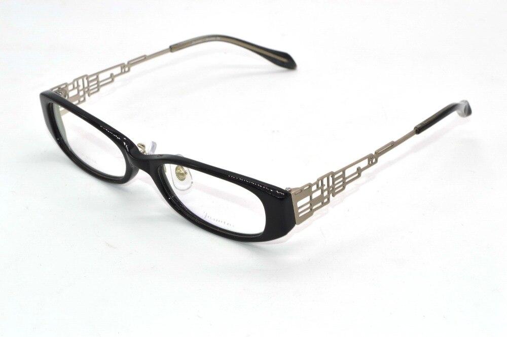 handmade optical alloy hollow temple designer eyeglass frame custom made prescription nearsighted glasses photochromic 1
