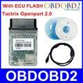 Лучшее Качество Tactrix Openport 2.0 + ECUFLASH ЭКЮ FLASH Tactrix Openport 2.0 ECU Чип-Тюнинг Для CAN/ISO/K-Line Protocol Свободный Корабль