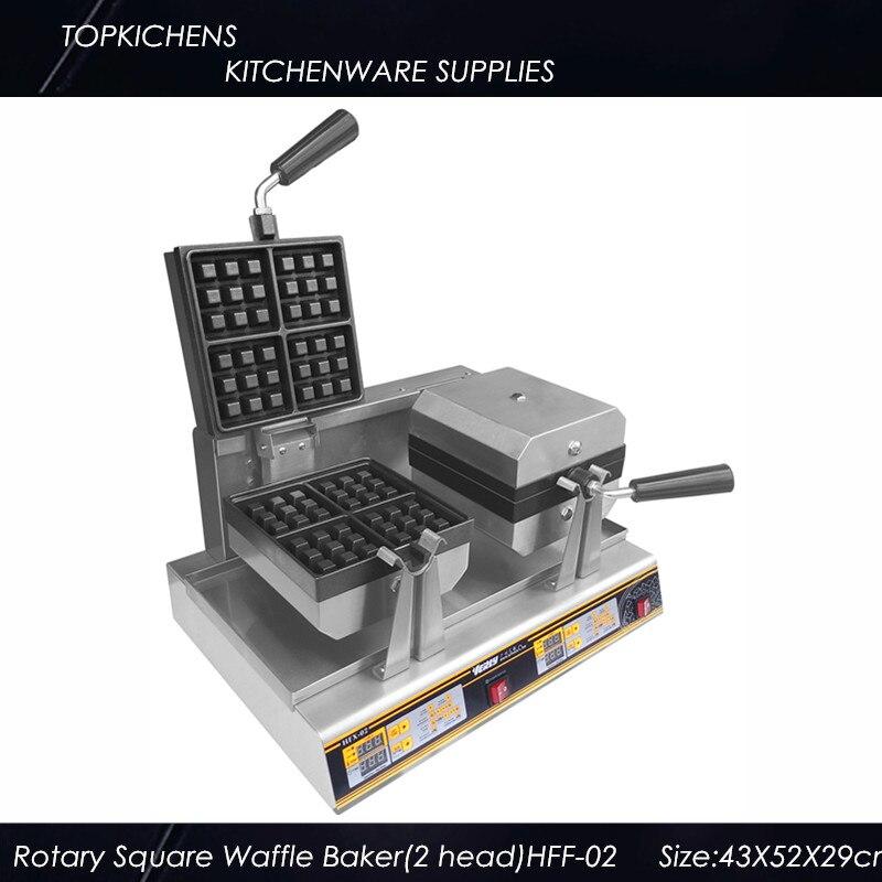 Rotary Square Waffle machine HFF-02 Waffle maker