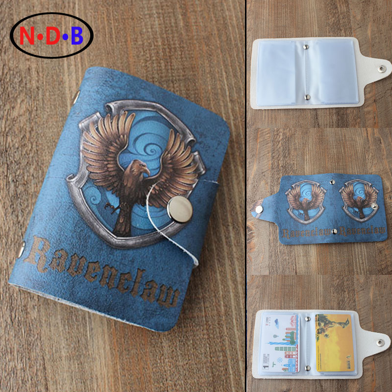 (Card & ID Holders)fashion Trend Card package Potter Harry Ravenclaw Card bag Men and women who card package XKB1089