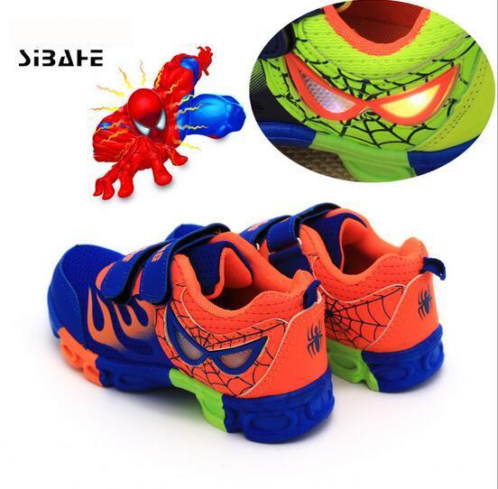 2017 nueva Luz Colorida de Zapatos Niñas niños Led Enfant Primavera Otoño Nueva LedShoes Deportes Transpirable Zapatillas de Deporte del bebé