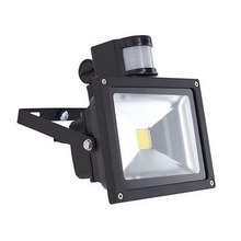 10W 20W 30W 50W LED Outdoor Floodlight  Cold White Waterproof IP65 PIR Motion Sensor Landscape Lamp