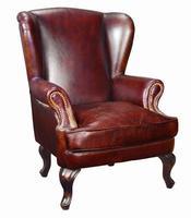 классический кожа крыло стул