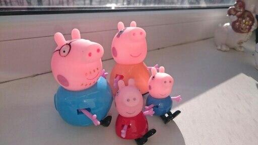 папа свин и мама свинка