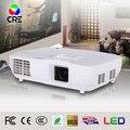 Hecho en china de cine en casa proyector nativo 1920x1080 3led 3lcd rgb hd 3d proyector