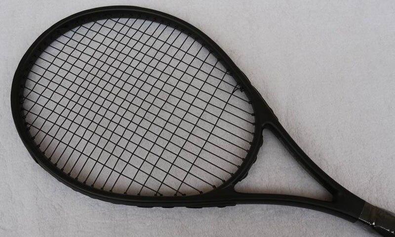 No Brand Logo Tennis Racket Carbon Aluminum Alloy Tennis Racquets