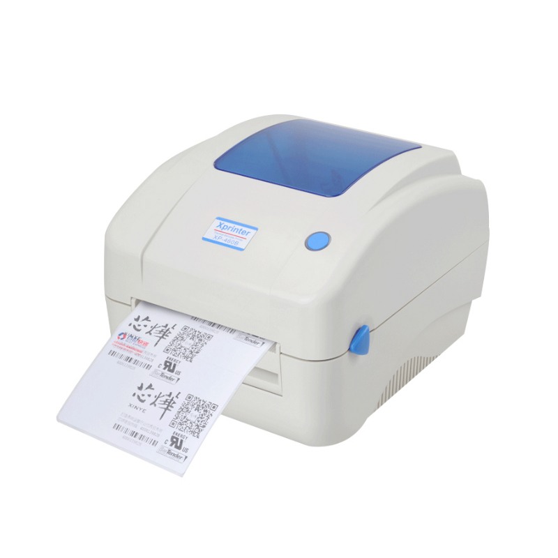 xp 460b 108mm max width direct thermal barcode lable With label printer office max