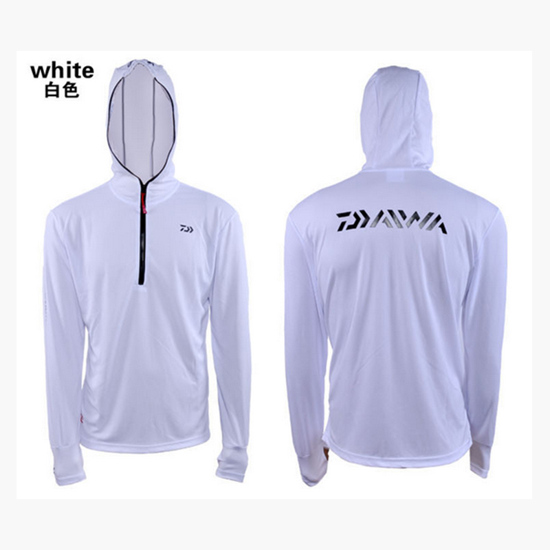 The newest fishing clothing sunscreen bamboo fiber wicking cool Breathable summer man hoody shirt outdoor sports