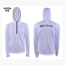The newest  fishing clothing sunscreen bamboo fiber wicking cool Breathable summer man hoody shirt outdoor sports jersey white