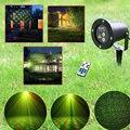 2016 Nuevo de alta calidad láser enchufe luces de Navidad luces de la lámpara paisaje lámpara de césped Al Aire Libre a prueba de agua + Rf control remoto