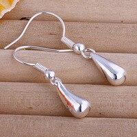 серебро 925 серьги-ase35-мода ювелирные изделия серьги бесплатная доставка 925 Серра ювелирные изделия оптовая продажа серебро 925 серьги для женщин
