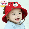 BBMZ033 Spring new  small lion baby sun shaded basin cap outdoor fisherman hat cotton  fashion  lovely