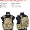 Military Combat MOLLE sistema CPC militar chaleco táctico 500D desgaste súper campo de batalla schutzwesten colete chaleco ejército militar