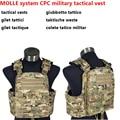 Military Combat MOLLE system CPC military tactical vest 500D super wear battlefield schutzwesten colete militar army vest