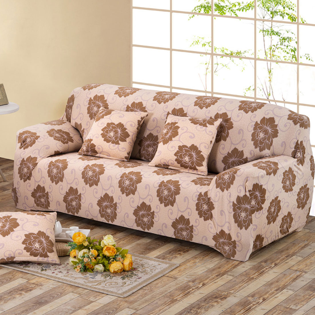 Uxcell Piccocasa Household Polyester Flower Pattern