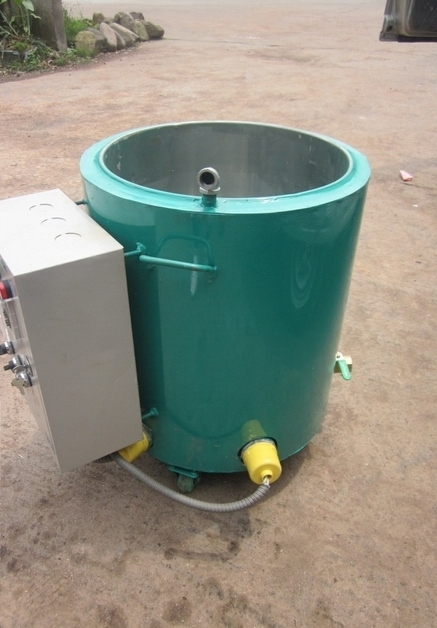 Industrial Wax Melting Machine, Wax Melting Tank Price For Sale with 15Kg/hour 86 250mm competitive price bees wax foundation machine