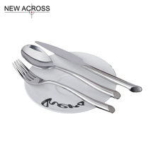 Gohide Western Style Products Tableware Stainless Steel Western Cutlery Steak Knife And Fork Spoon Coffee Spoon Set