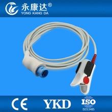 Nihon Kohden TL-101S adult Spo2 sensor, finger clip type,10pins