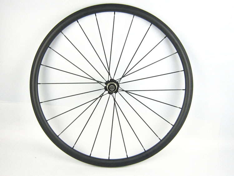 one pc Rear Road Wheel 24MM Tubular Carbon Bike Wheel Cycle Racing Wheel 20 5mm Wide