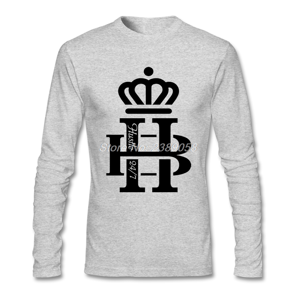 Black t shirt roblox - 2017 T Shirt Men Long Sleeve Tshirt Hb Hustle Cool T Shirt Cotton Men Brand Clothing
