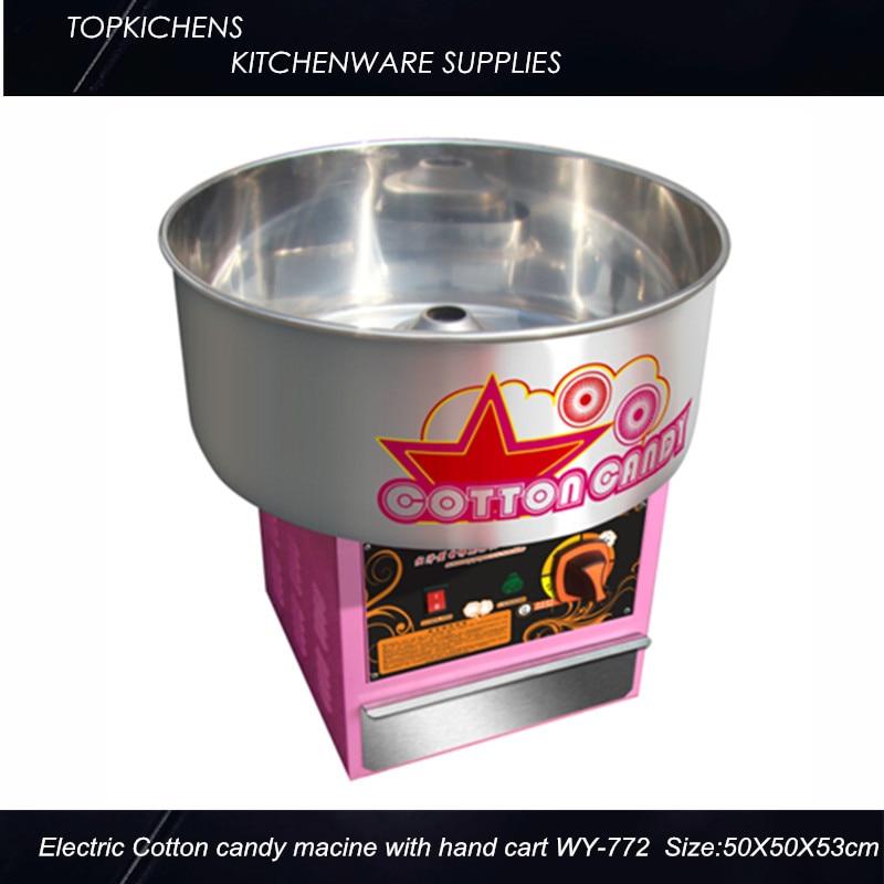 Electric  cotton candy machine cotton floss machine WY-772-Simple Type electric cotton candy machine cotton floss machine