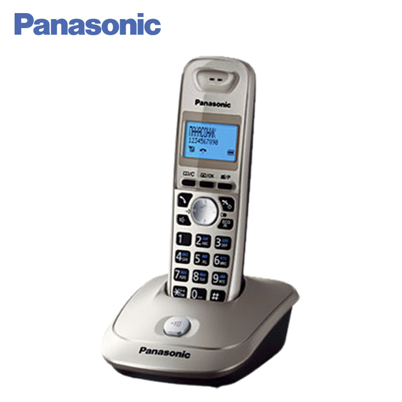 Panasonic KX-TG2511RUN DECT phone, digital cordless telephone, wireless phone System Home Telephone. panasonic kx tg2512rus dect phone additional handset included eco mode time date display communication between handsets