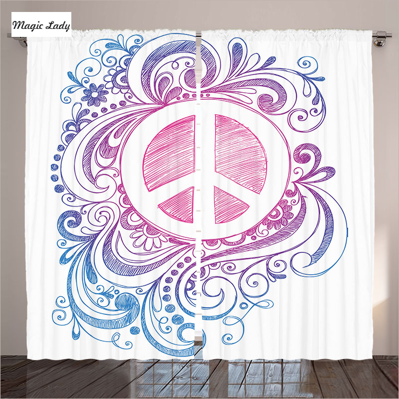 Curtains Decoration Fabric Fabric Living Room Bedroom Hand ...