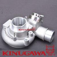 Kinugawa Turbo obudowa sprężarki w/BOV dla Mitsubishi TD05 TD05H TD06 18G w Turboładowarki i części od Samochody i motocykle na
