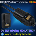 hdmi wireless transmitter and receiver 100m Photography DV SLR Cameras Wireless high-definition Image Transmission 100M