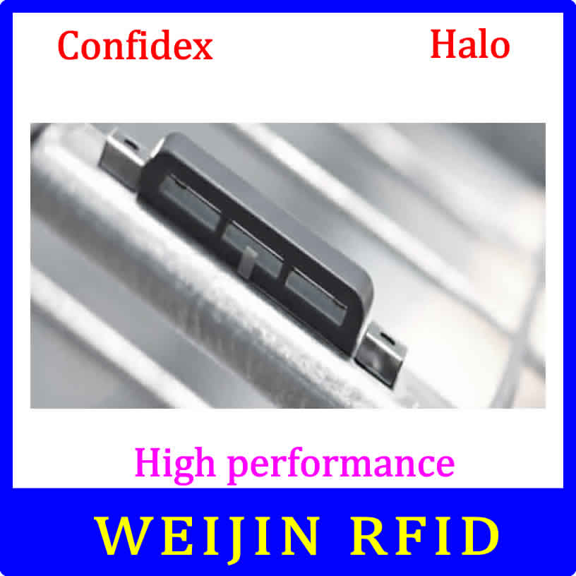UHF RFID anti-metal tag confidex Halo 915mhz 868mhz NXP UCODE G2XM EPCC1G2 18000-6c easy to bunding smart card passive RFID tags uhf rfid metal tag 915mhz 868mhz alien higgs3 epcc1g2 6c 53 13 2 8mm fixed assets management pcb smart card passive rfid tags