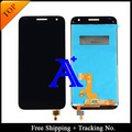Free Shipping Tools 100%  Tested LCD Display Touch Screen Digitizer Replacement  For Huawei Ascend G7 Black