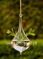 4 шт / много капля воды стекло подвесной ваза, домашнее украшение