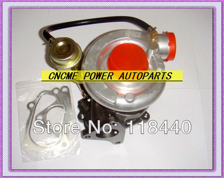Turbo TD06-20G Turbocharger for Subaru WRX STI EJ20 EJ25 2.0L MAX HP 450HP Water cooled With gaskets (3)